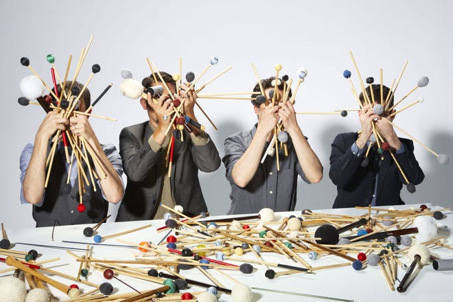 Third Coast Percussion will perform at Door Community Auditoriumthis weekend as part of Winter Water Fest.
