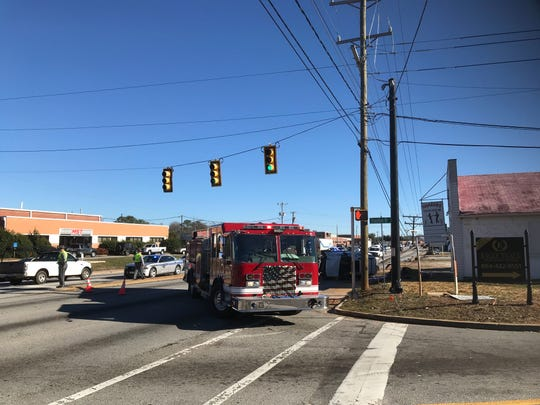 A fatal accident on White Horse Road has caused a major traffic jam at the intersection of that road and Staunton Bridge Road in Greenville Thursday, Jan. 24, 2019.