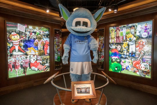 The Mascot Hall of Fame in Whiting, Ind., Thursday, Jan. 3, 2019. The city, in the extreme northwest corner of the state, already enjoys an annual visitor influx in late July due to the city's Pierogi Festival.