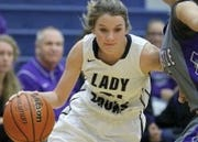 Maggie Cora of Tri-West girls basketball averages 23 points per game.