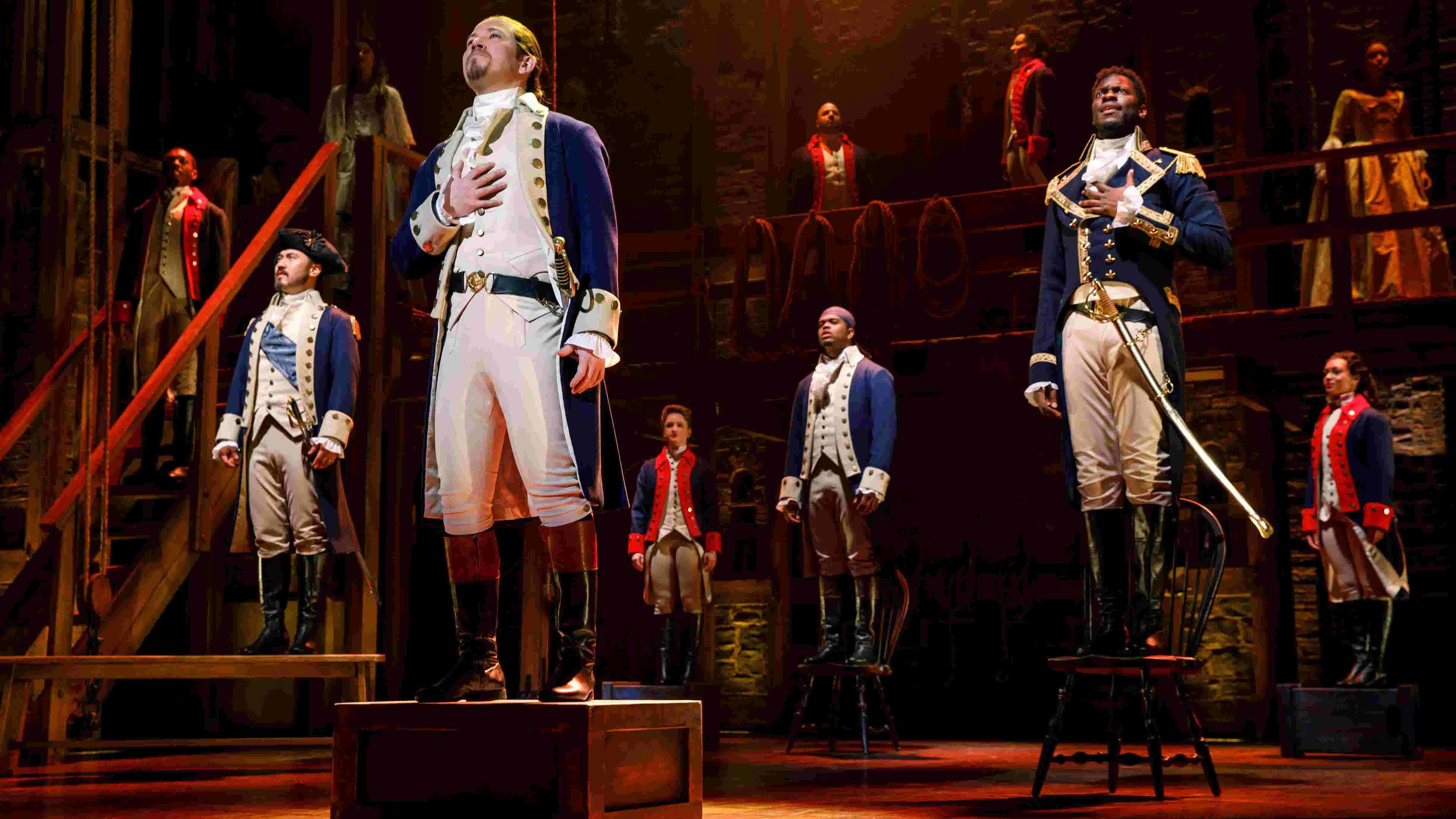 'Hamilton' leads roster of Broadway shows in Indianapolis