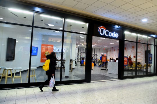 UCode, located at The Shops at Ithaca Mall, teaches coding and computational thinking using robots.