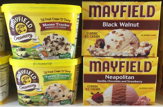 Mayfield ice creams, made in Athens, Tennessee, have buttermilk-based recipes.