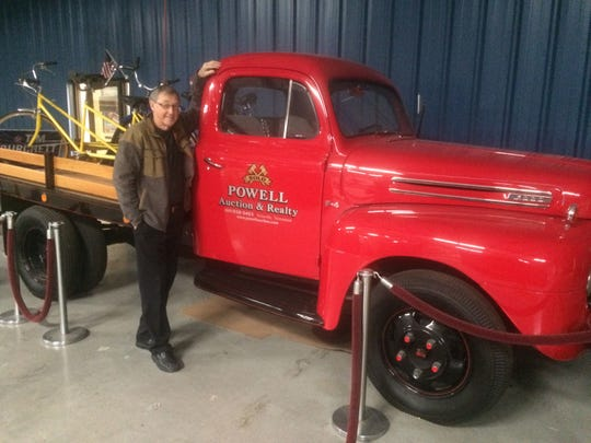 Howard Phillips' pride and joy is an old truck he had restored.