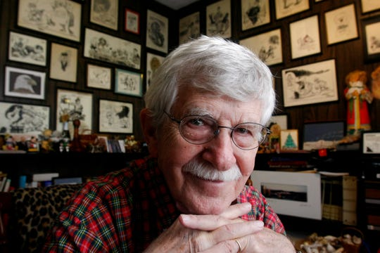 Charlie Daniel's editorial cartoons have delighted Knoxvillians for more than six decades.