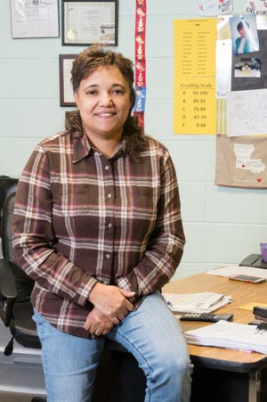 Monique (Nicky) Walker is a teacher at LJ Alleman Middle School.