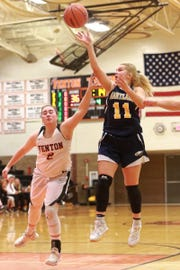 Hartland freshman Amanda Roach is averaging nine points a game.