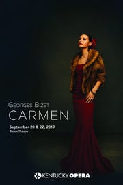 "Kentucky Opera will stage ""Carmen"" during its Brown-Forman 2019-20 season."