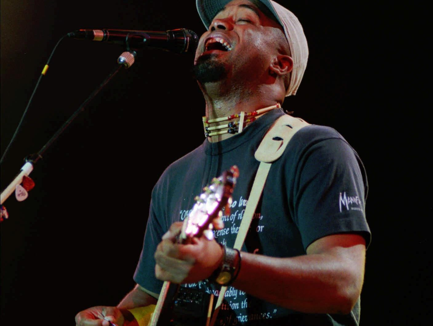 Darius Rucker, lead singer of Hootie and The Blowfish
