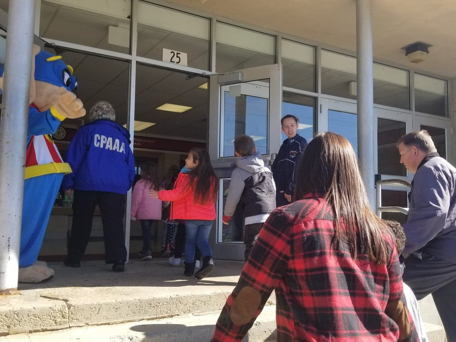 Members of Marion's CPAAA provide the Marion Police Department with extra hands, helping with community outreach like school safety drills.