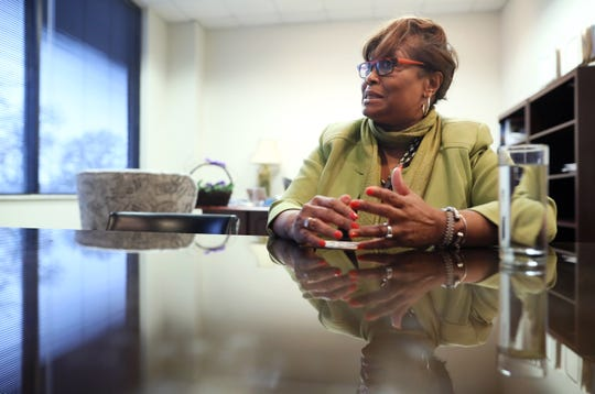 Greater Memphis Chamber interim leader Beverly Robertson speaks from their downtown office on Wednesday, Jan. 23, 2019.