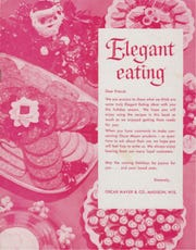 Packaged meats proliferated during the 1930s. Booklets like this gave consumers ideas for using the meats.