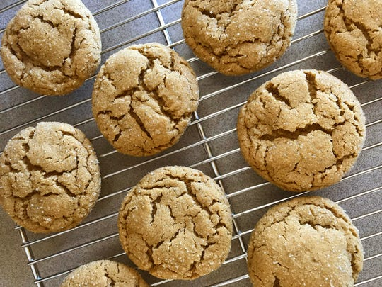 These spice cookies made with Wisconsin sorghum will warm you up sweetly on a cold snowy day.