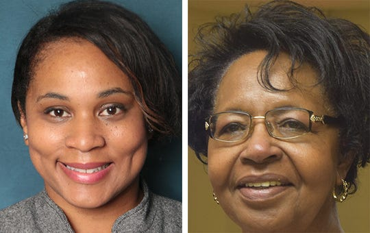 MPS board candidates Shyla Deacon and Marva Herndon