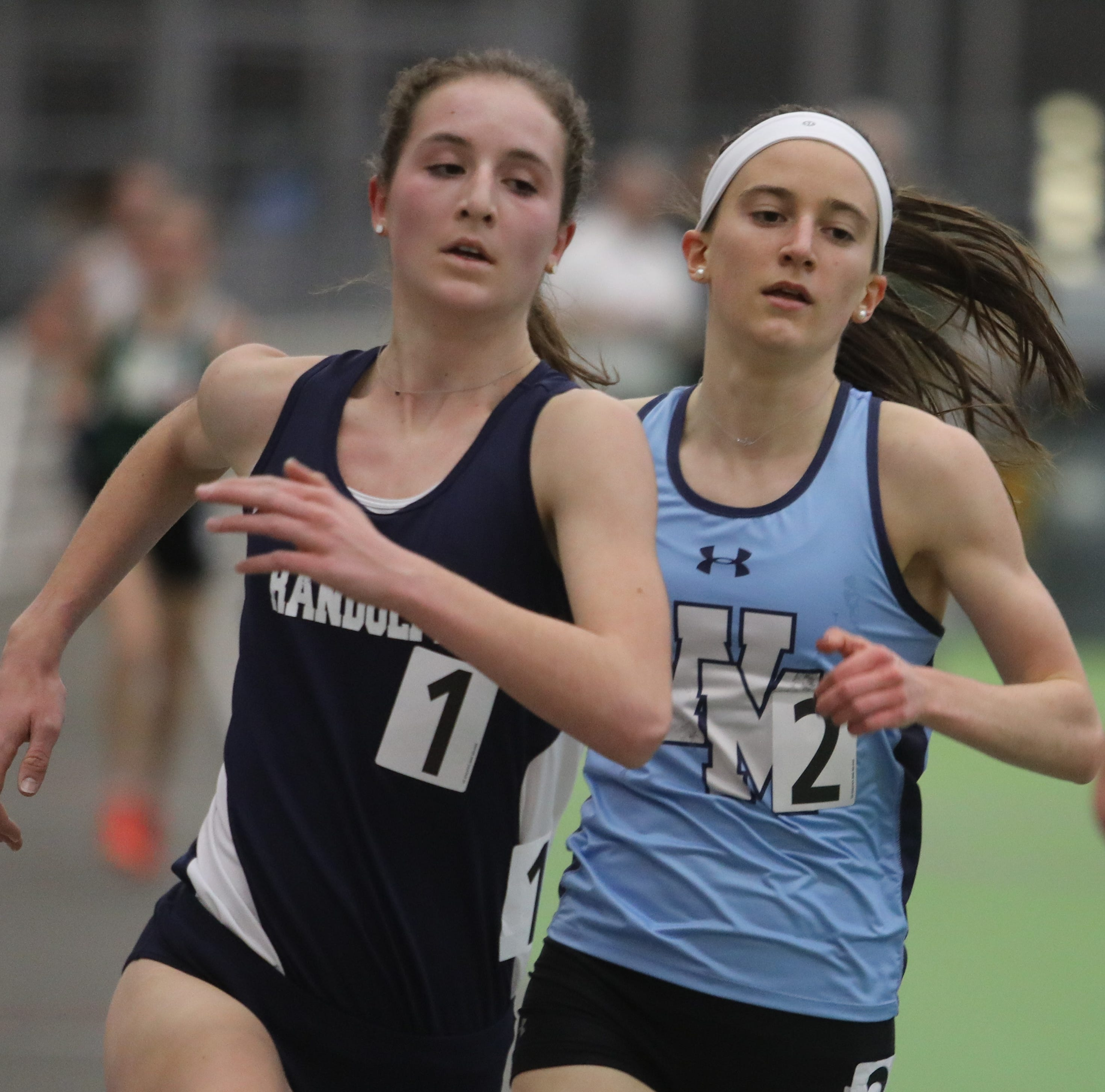 Loveys, O'Malley lead Randolph girls to third straight Morris County team title