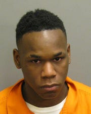Keondre Haynes was charged with three counts of first-degree robbery.