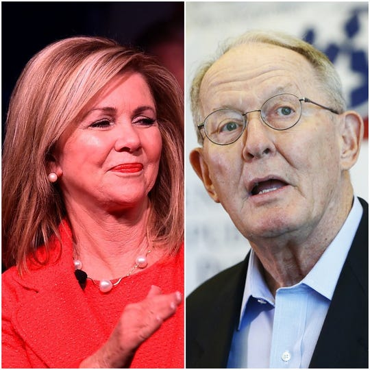 Sens. Marsha Blackburn and Lamar Alexander.