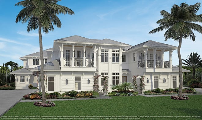 Gulf Bay Homes offers new luxury coach home residences in Fiddler's Creek.