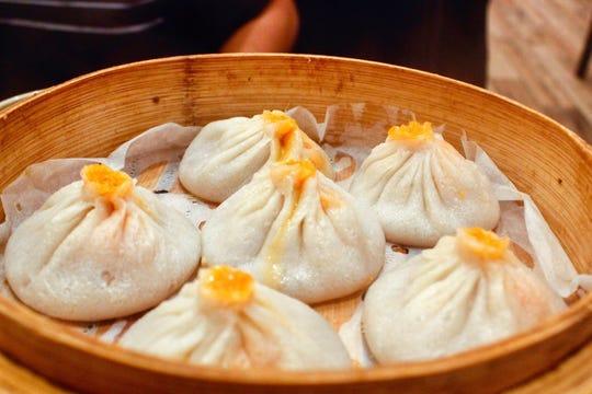 Yummy dumplings at Soup Dumpling Plus in Fort Lee
