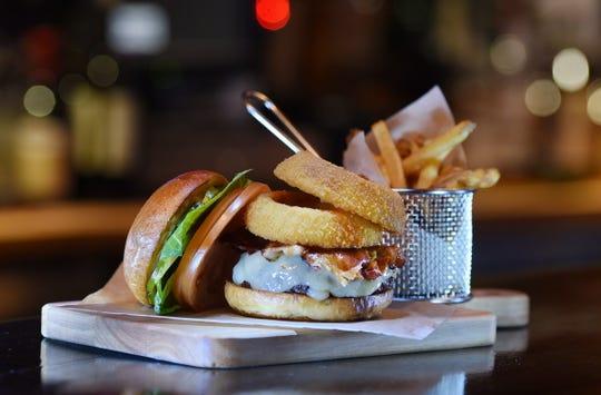 The Zabriskie Burger at Hohokus Inn in Ho Ho Kus on 01/23/19.
