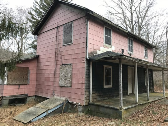 The Stites House at Long Pond Ironworks State Park in West Milford is suffering from interior water damage.
