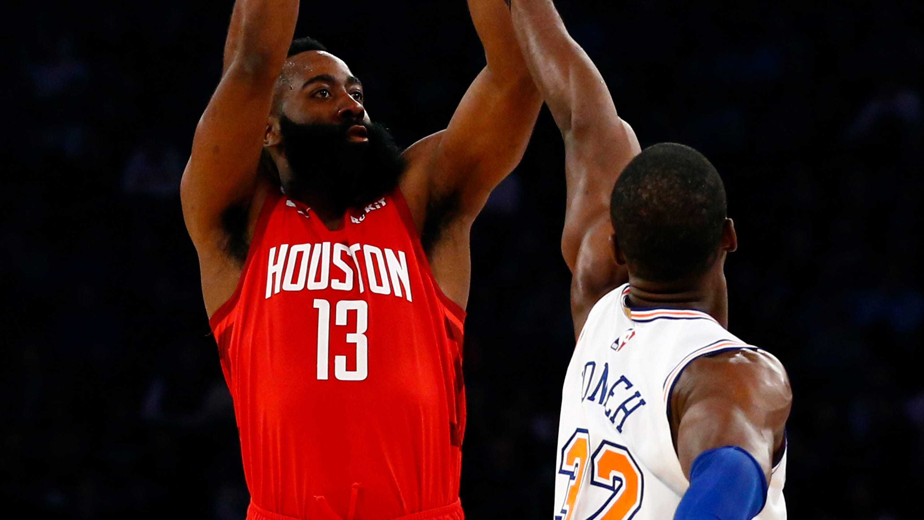 3668c2a62720 James Harden streches scoring streak in Rockets  win over Knicks
