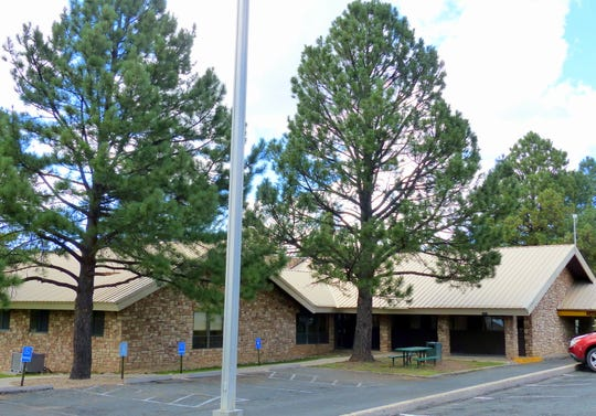 The Ruidoso utility payment office is in village hall at 313 Cree Meadows Drive.