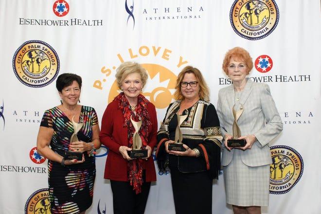 left to right Ann Sheffer, Patty Newman, Tamara Hedges, Ann Mostofi