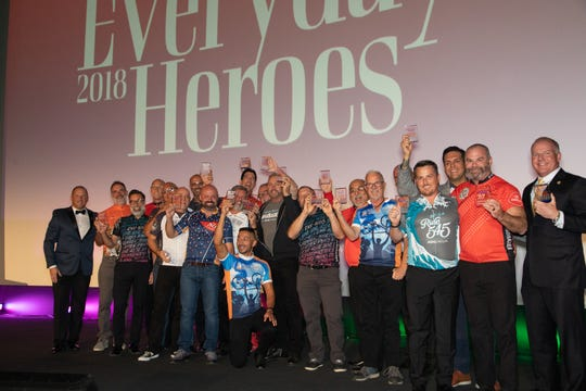 The State Farm Good Neighbor Award was presented to the 2018 Palm Springs AIDS Lifecycle Participants.