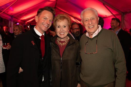 David Brinkman with Barbara and Bernie Fromm