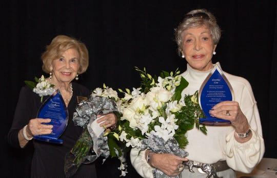 Barbara Flanagan and Grethe Cox – Honorees