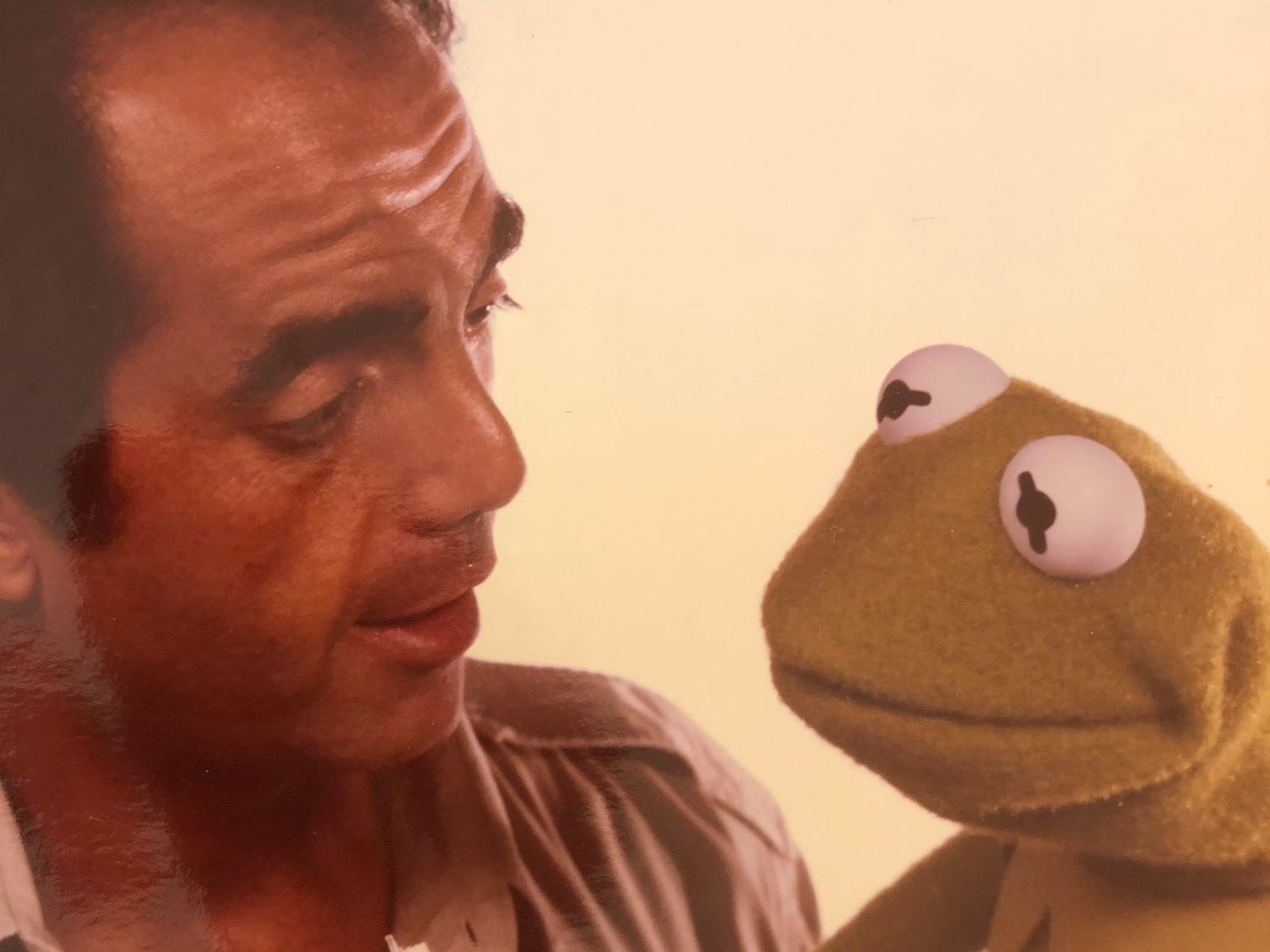 James Frawley, shown directing Kermit the Frog.