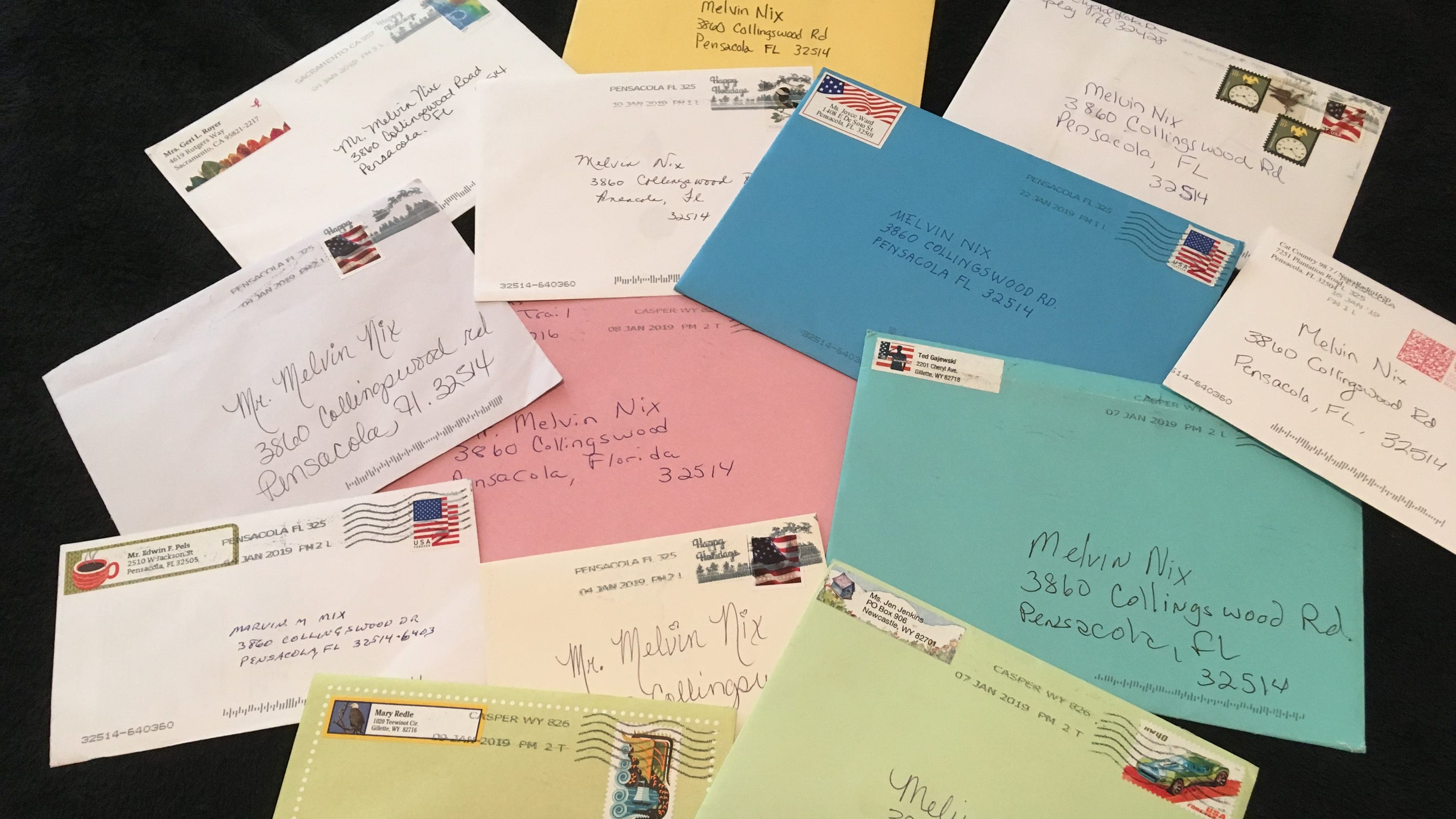 Pensacola Couple Requests Surprise Birthday Cards For Father And WWII Vet Turning 94