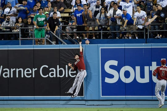 A.J. Pollock (11) is going from being a Dodger-killer with the Diamondbacks to playing in Los Angeles.