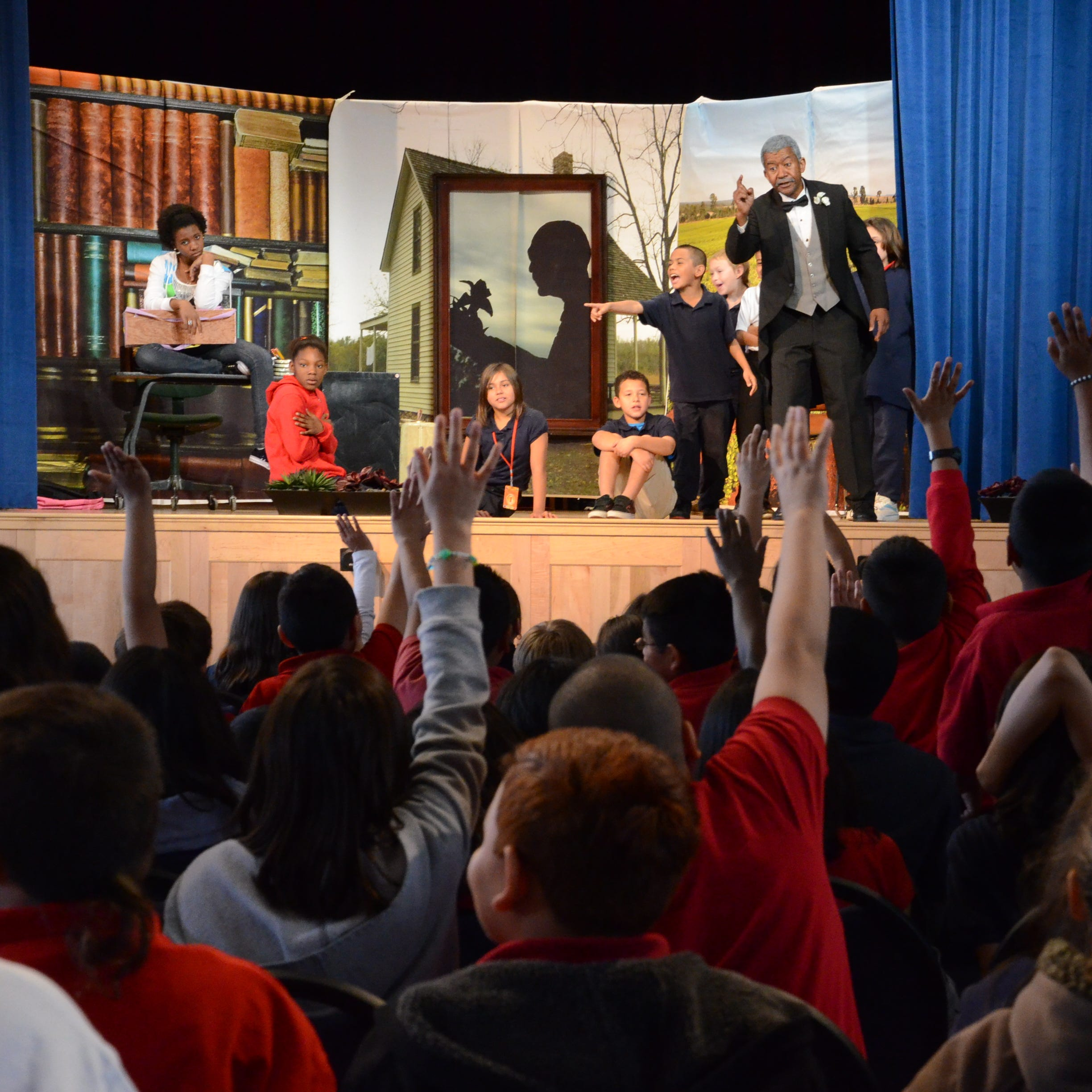 Season for Sharing: Black Theatre Troupe brings books to life for children of color