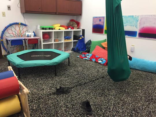 Our Lady of Perpetual Help School in Scottsdale has a sensory room to help accommodate the needs of students.
