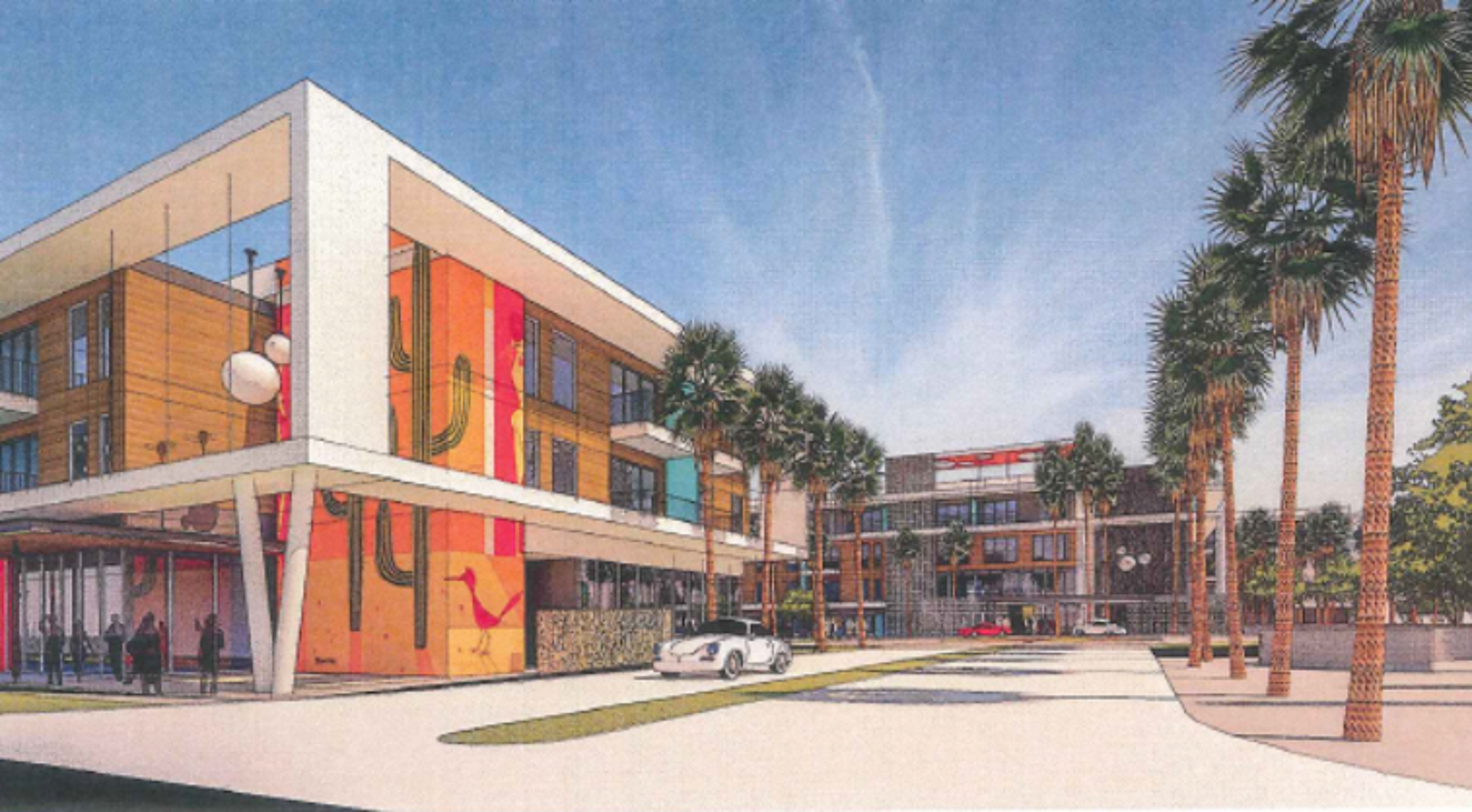 Midcentury modern apartments coming to McDowell Road in ...