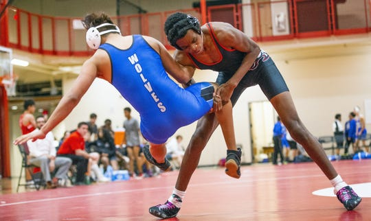 Adonis Watt is excelling on the wrestling mat for Brophy Prep.
