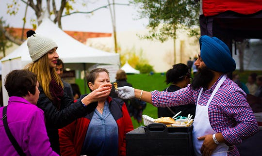 The Arizona Vegetarian Food Festival will take place at the Scottsdale Civic Center on February 2-3, 2019.