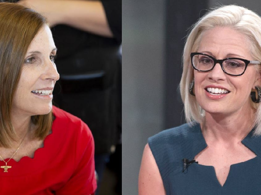 Sinema, McSally both oppose Trump on pulling troops from Middle East