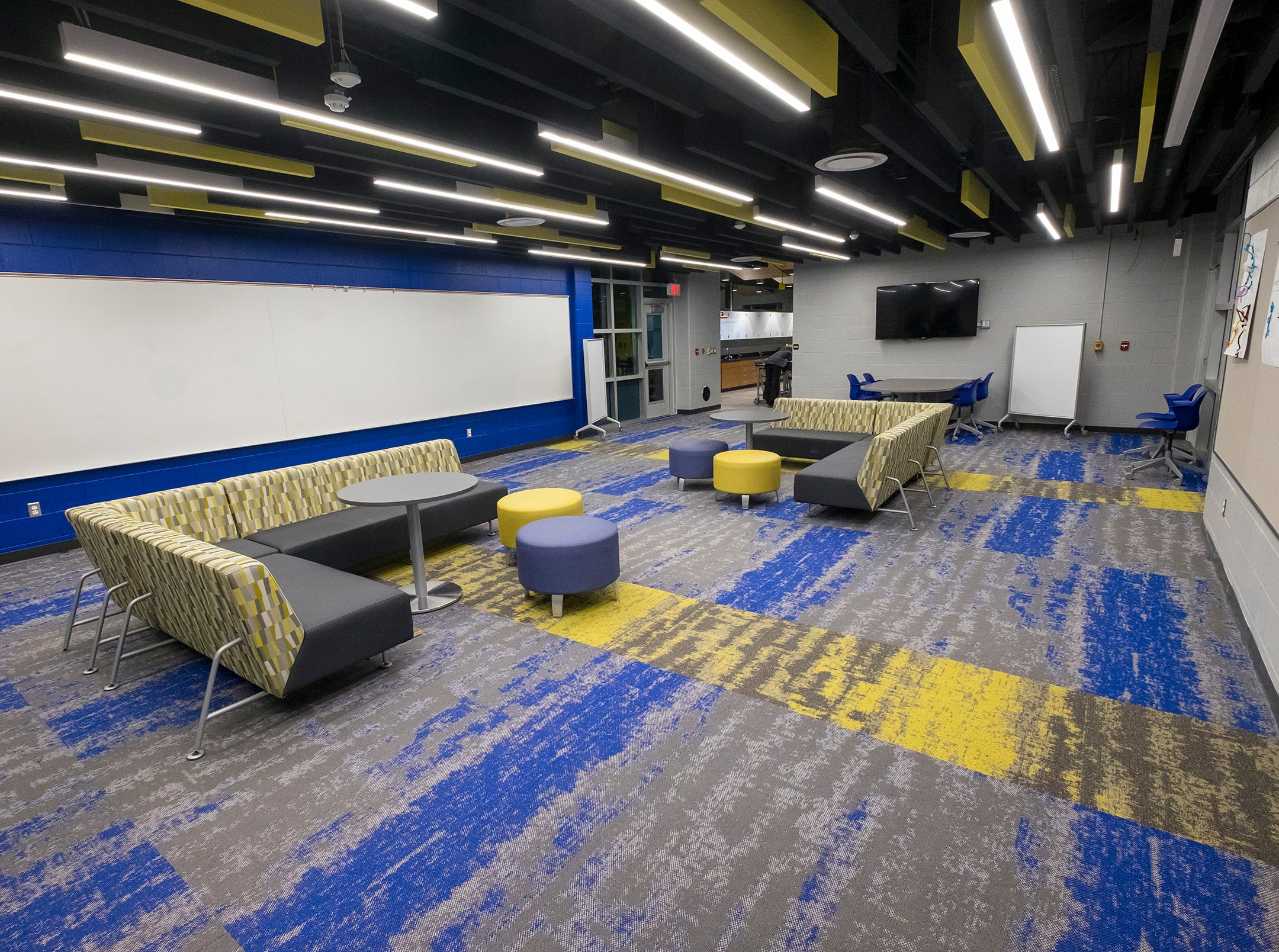 Guests were given a first look into the new STEAM labs at Port Huron Northern during a ribbon cutting ceremony Wednesday, Jan. 23, 2019.