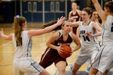 John Jay versus Arlington girls basketball