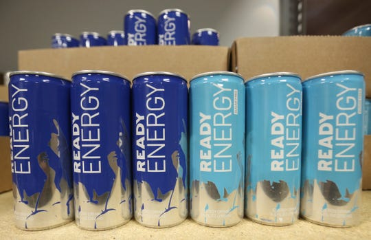 Ready Energy drinks at Ready Coffee's headquarters in Wappingers Falls on January 24, 2019.