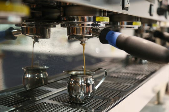 A fresh cup of espresso is prepared at Ready Coffee in Wappingers Falls on January 24, 2019.