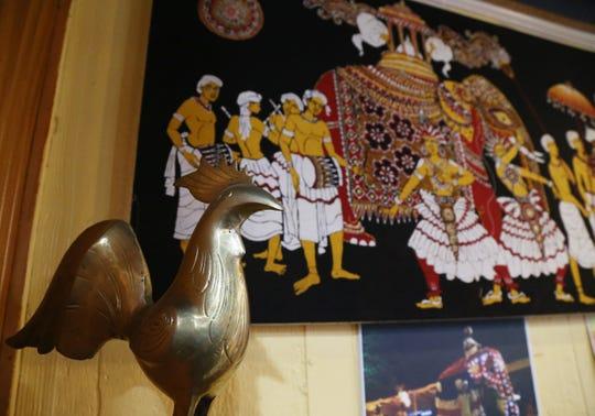 Inside the Red Pepper Diner, a Sri Lanken American Bistro.
