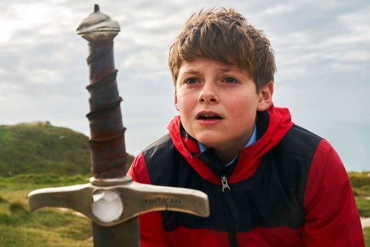 "Louis Ashbourne Serkis in a scene from ""The Kid Who Would Be King.""  The movie is playing at Regal West Manchester Stadium 13 and R/C Hanover Movies."