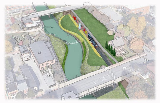 This is a rendering of the Codorus Creek plan.