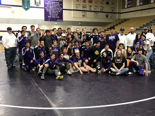 Spanish Springs wons its 12th straight High Desert League wrestling title on Wednesday.