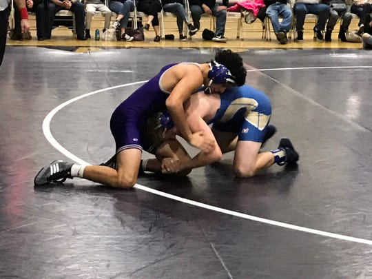 The Cougars defeated Reed, 54-24 Wednesday night to claim their 12th straight High Desert League wrestling title.