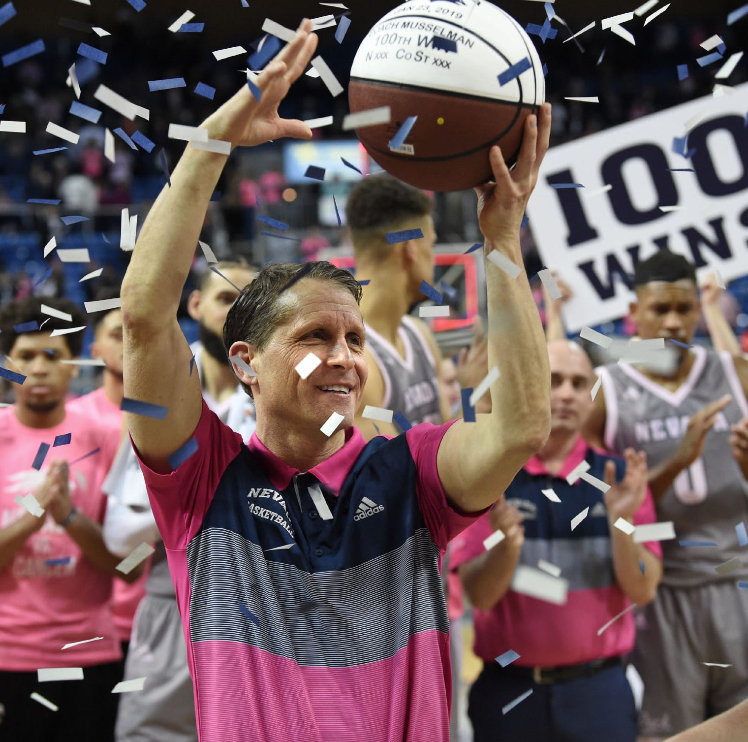 Eric Musselman is 'here in Reno with no plans to go anywhere,' says Danyelle Musselman